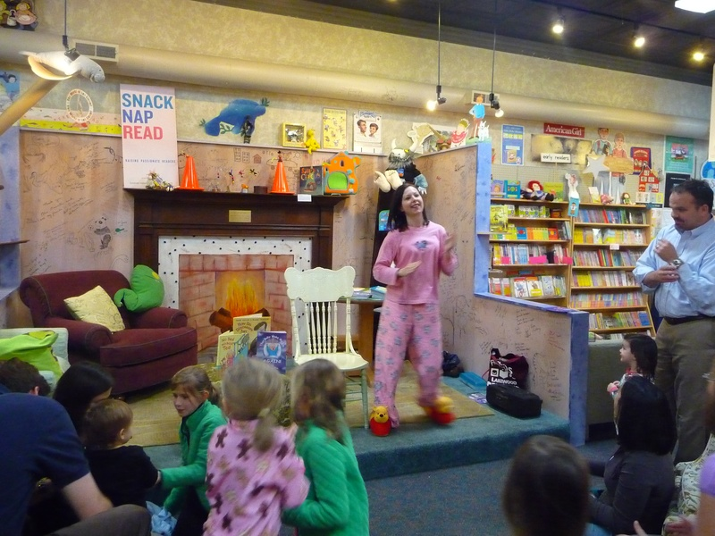 Pajama Party Story Time