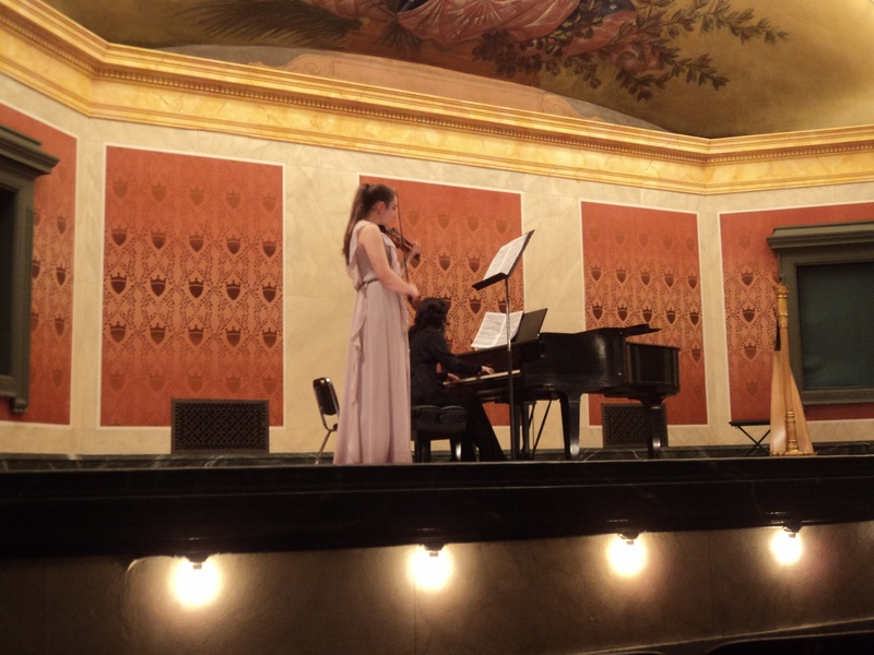 Recital at Memorial Hall