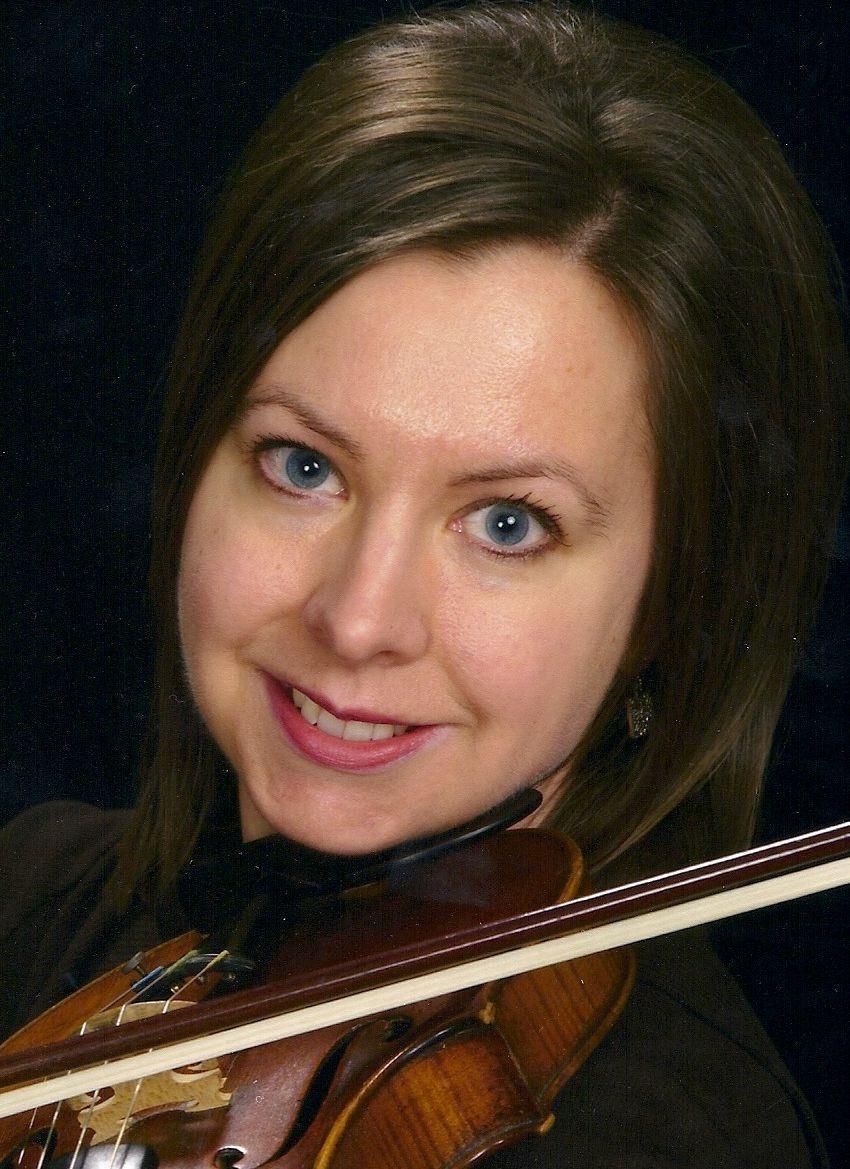 Violinist, Sherry Ellis
